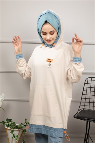 İkoll Sweat 24180 Bej